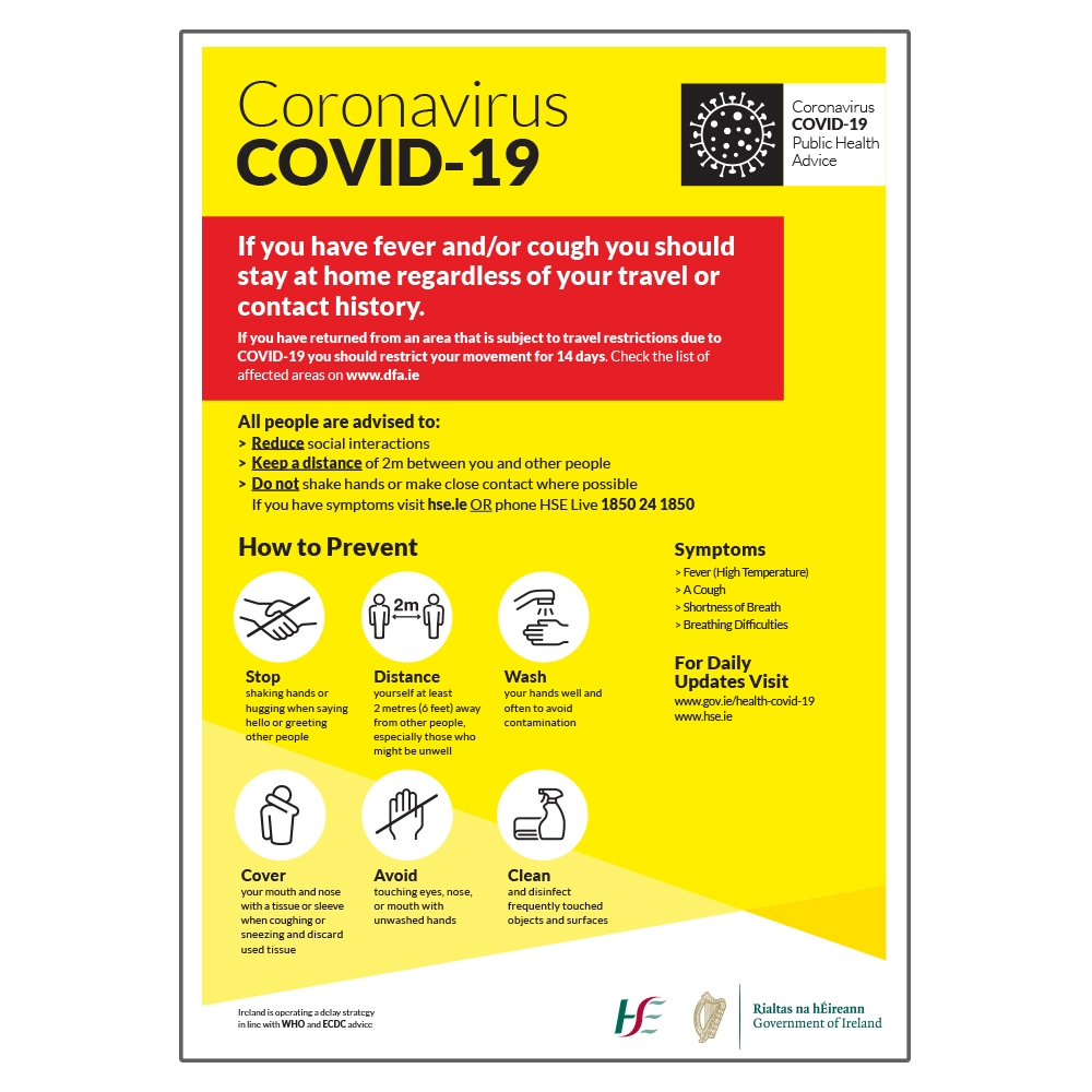 Covid-19 HSE Sign1